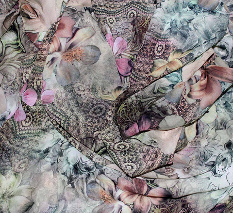 Digital printed fabric