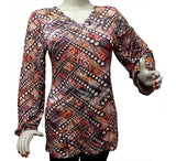 Jersey Top -  Tunic with digital print
