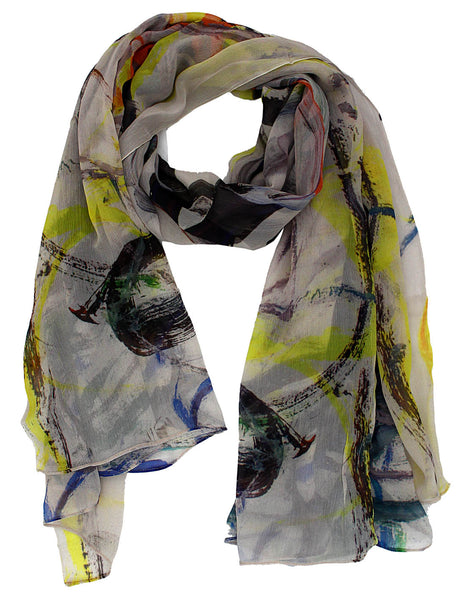 how to wear and buy silk scarf
