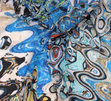 Fabric - cotton viscose digital print