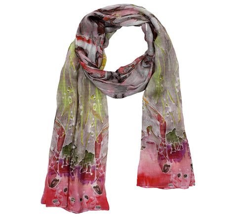 Modal Scarf | Diffused glow print