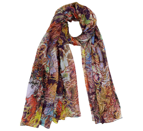 Digital printed scarf | Modal fabric scarf