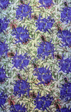Flower on paisley Silk Scarf - Silk Scarves