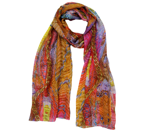 Jewel Scarf | Printed scarves online