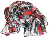 knotty Silk scarf - Silk Scarves