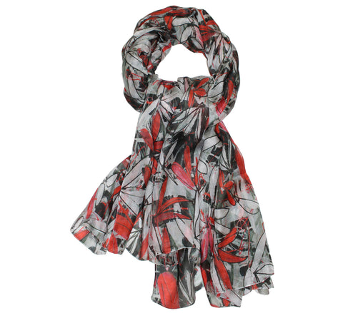 knotty Silk scarf | Silk neck scarves