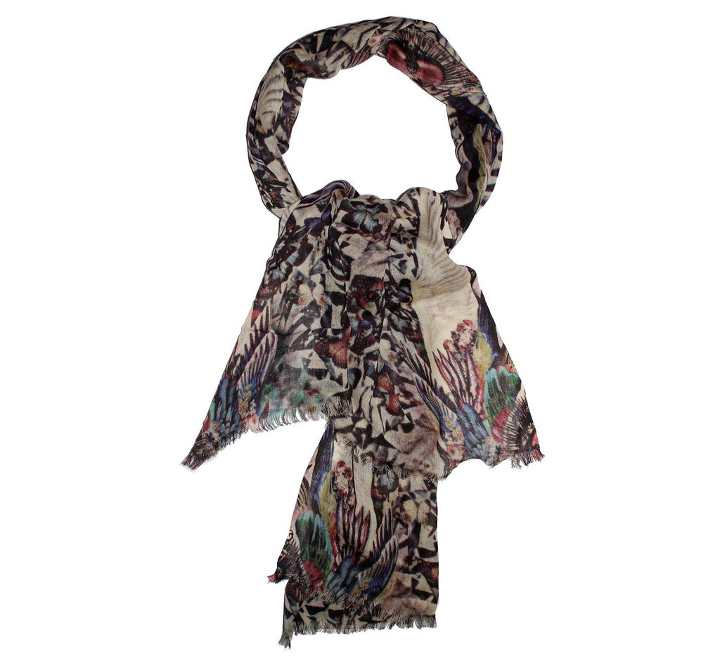 wool scarf from cashmere