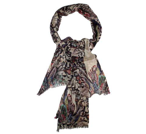 Cashmere wool scarf | Authentic cashmere shawl