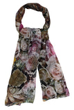 silk modal scarf for women