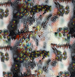 Silk Crepe fabric with Animal Digital print - Silk fabric