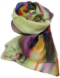 Silk scarf digital printed