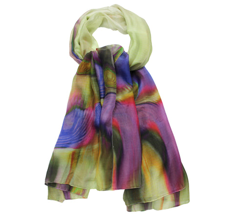 Urvi's Silk scarf | Full size long silk scarf