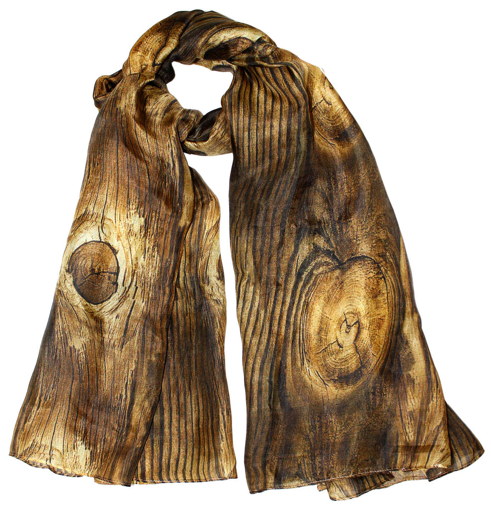 Wood art bandana