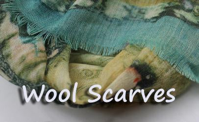 Wool scarf - Digital printed
