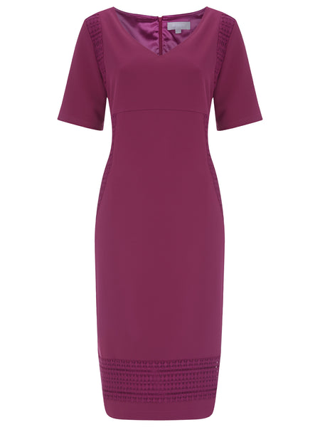 Emily Crochet Trim Dress - Havren