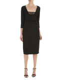 Black Sienna Ponte Dress - Havren