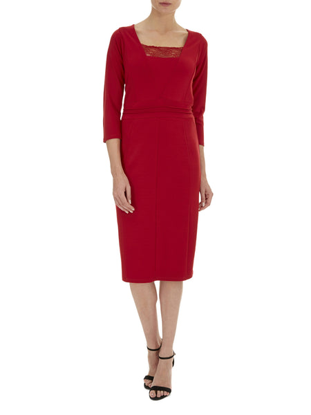 Scarlett Sienna Ponte Dress - Havren