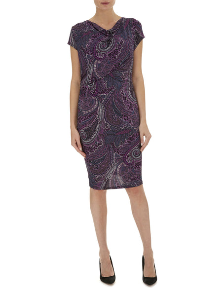 Printed Jersey Dress - Havren - 1