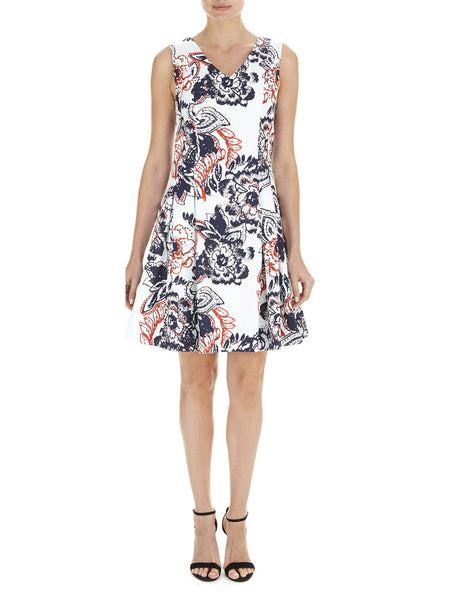 Michelle Fit and Flare Dress - Havren - 1