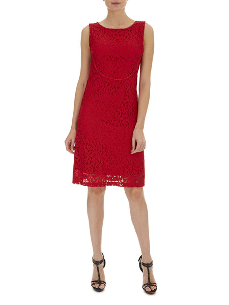 Scarlett Matilda Sleeveless Lace Dress - Havren - 1