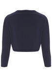 Dark Navy Bella Shrug - Havren