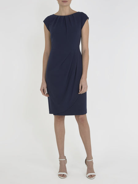 Navy Rosalyn Tulip Dress - Havren