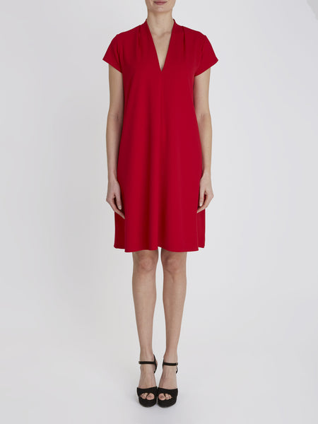 Red Nancy Tunic Dress - Havren