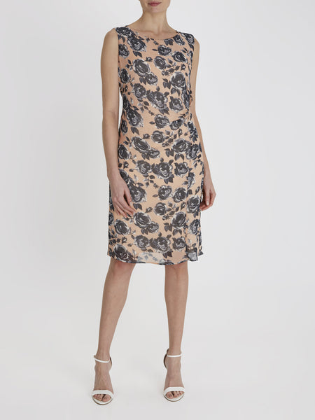 Coral Harper Floral Dress - Havren