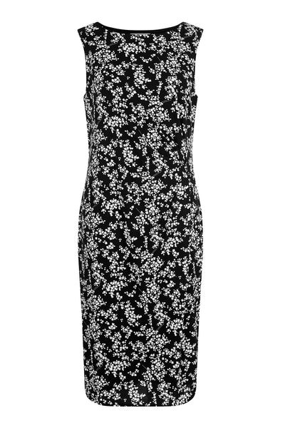 Black Maxine Ruched Dress