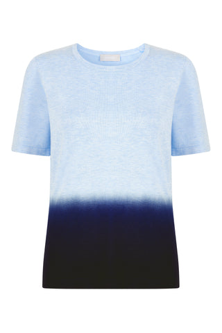 Jamie Dip Dye Short Sleeve Jumper