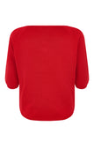Red Dolly Bow Jumper