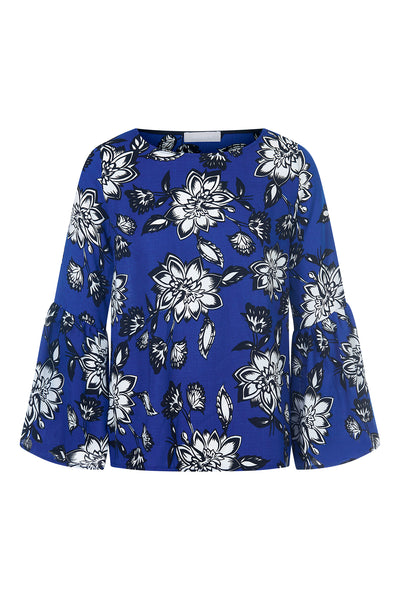 Cobalt Clarke Rose Fluted Top