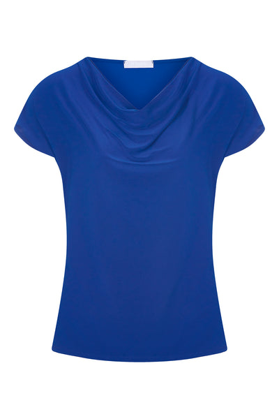 Cobalt Levi Cowl Neck Top