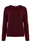 Wine Marlin Boucle Jumper