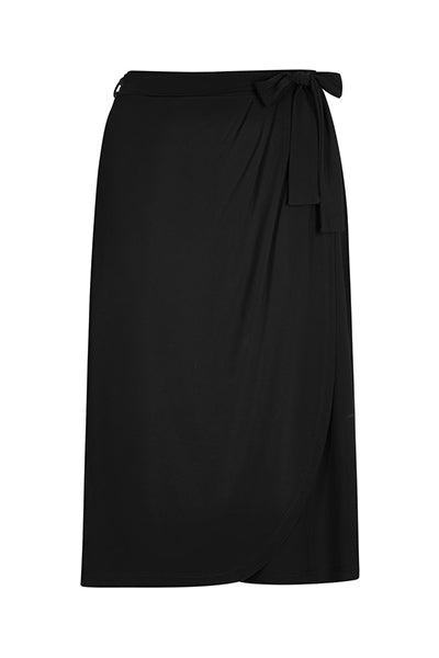 Black Sally Tulip Skirt
