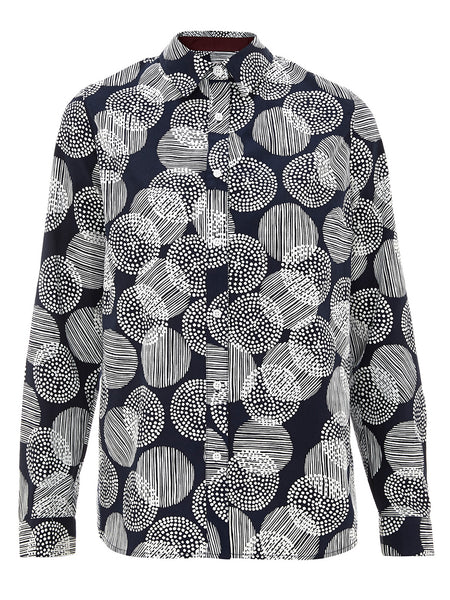 Printed Cotton Shirt - Havren