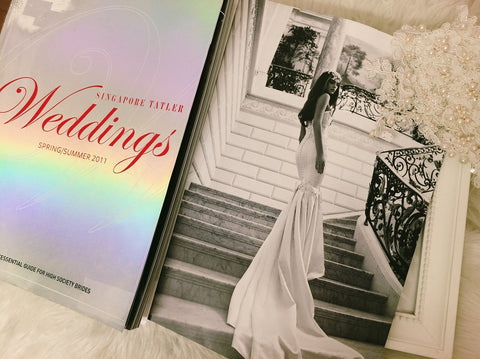 Thank You The Singapore Talter Wedding Editorial Team For Choosing Gioielli Bridal Accessories