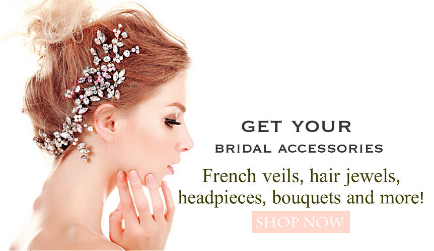 Welcome to Gioielli Weddinh Accessories Shop. The only bespoke wedding Accessories in Singapore.