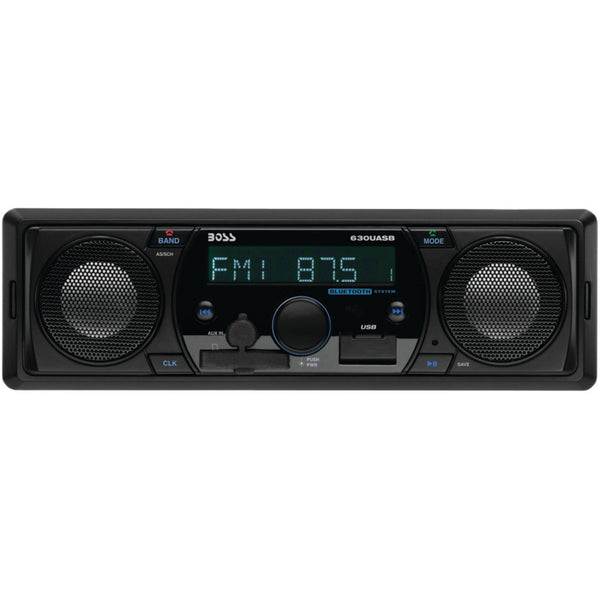 Car Stereo Audio Single-din In-dash Mechless Am And Fm