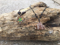 Carlos Creations: Coconut wood Neckless