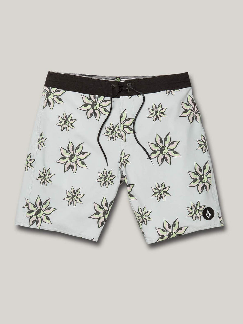 VOLCOM BURCH STONEYS TRUNKS - TOWER GREY