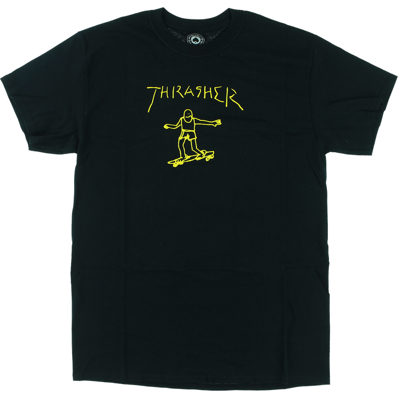 Thrasher Gonzales T shirt Black
