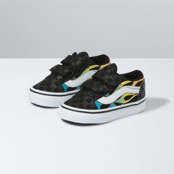TODDLER GLOW FLAME OLD SKOOL V (3-10)