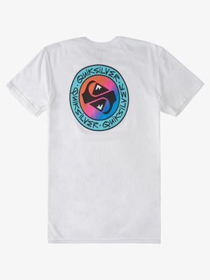 Quiksilver Boys 8-16 In Circles Tee White