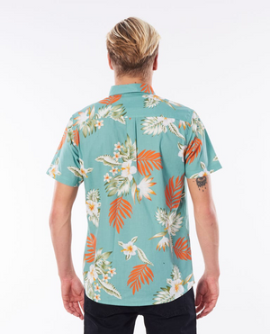 Ripcurl Vidasoul Short Sleeve Shirt teal