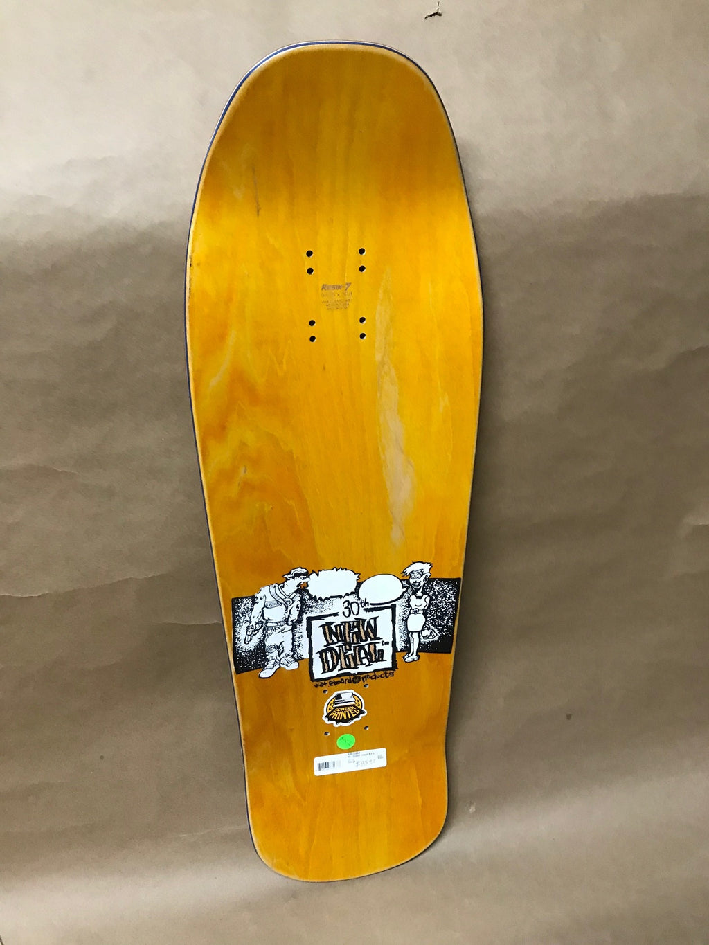 New Deal Howell Tricycle Kid Orange 9.625 Deck