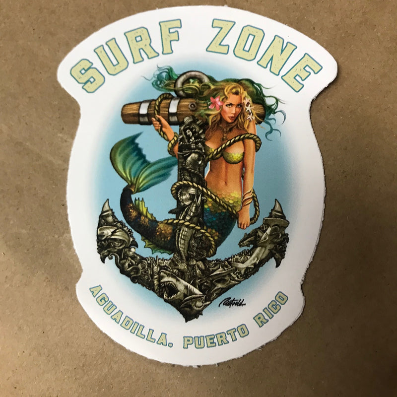 Sea Siren Sticker