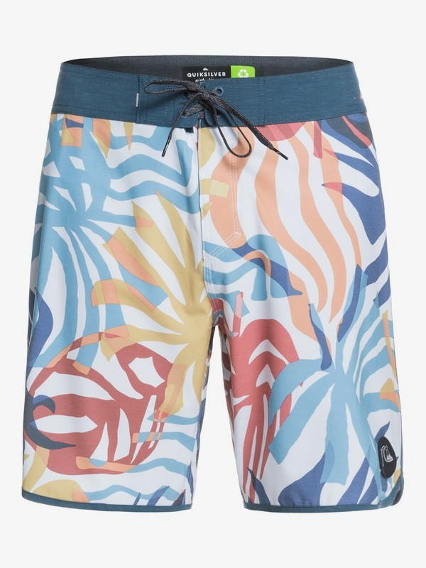 "Quiksilver Highline Vacancy Scallop 19"" Boardshorts"
