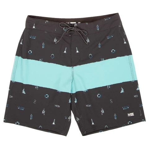 Salty Crew Bow Line Black Boardshorts