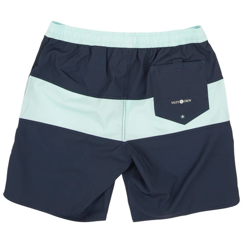 Salty Crew Beacons Navy Elastic Boardshorts